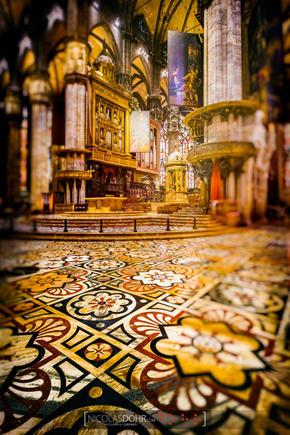 Inside the Duomo, Milan