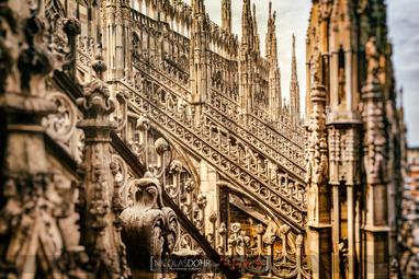 Milan Duomo buttress