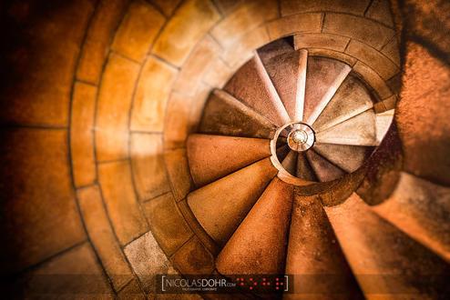 Stairs, Sagrada Familia, Barcelona