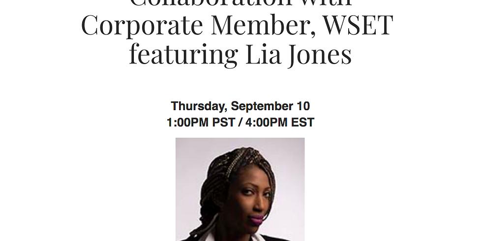 WSET Women to Watch: Lia Jones