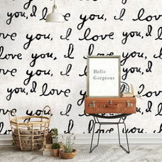 I LOVE YOU WALLPAPER FROM SUGARBOO