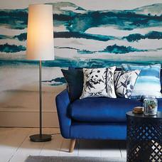 Blue Watercolour Wallpaper
