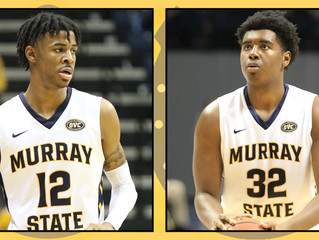 Morant & Cowart Honored With Weekly OVC Awards