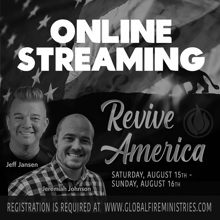 REVIVE AMERICA ONLINE STREAM ONLY