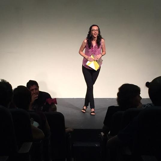 """Presentando """"Encrucijada"""" en Casa Haas, Mazatlán, Sinaloa."""