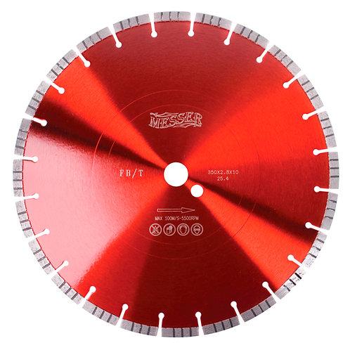 Алмазный диск с турбосегментом FB/T