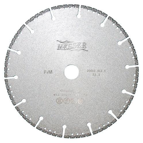 Диск алмазный для резки металла F/M