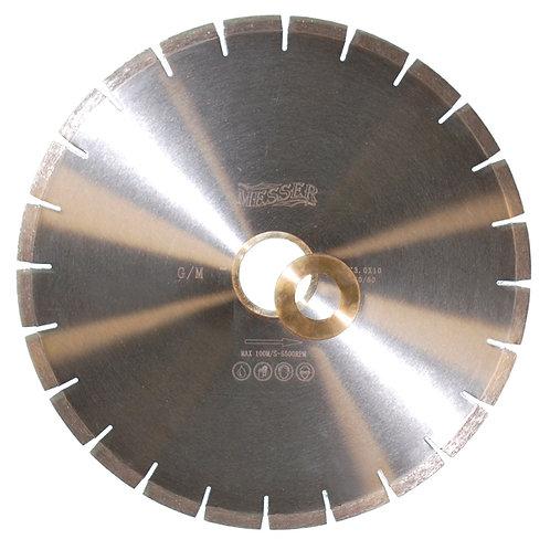 Диск алмазный сегментированный для мокрой резки