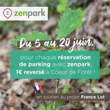 Zenpark s'engage pour la préservation des forêts françaises