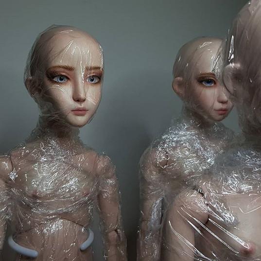 #wigs ! . . . #sculpting #artgram #ooak