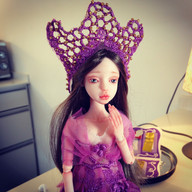 Yael- hand sculpted ooak bjd doll.jpg
