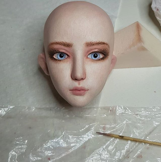 #sculpting #artgram #ooak #dolls #bjd #b