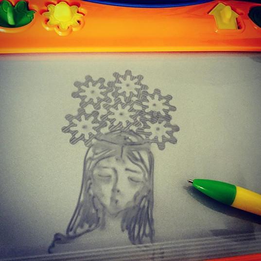 #megasketcher #play #sketch #bjd #doll #