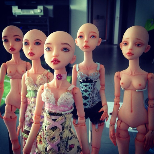#bjd #balljointed #art #doll #dolls #ooa