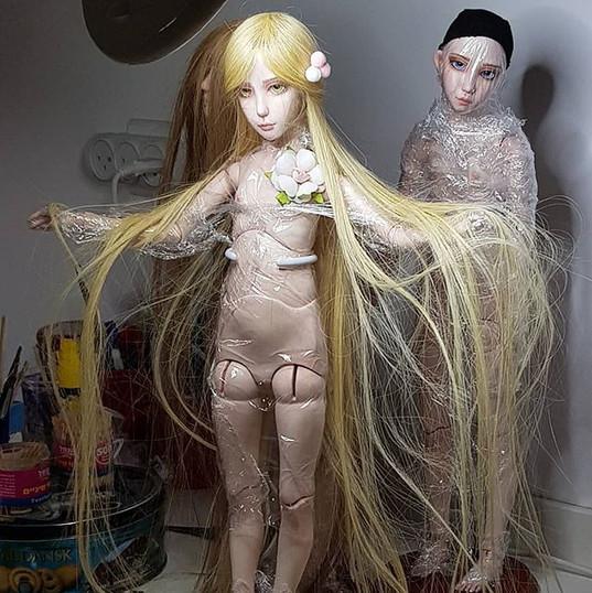 #wigs ! . . .#sculpting #artgram #ooak #