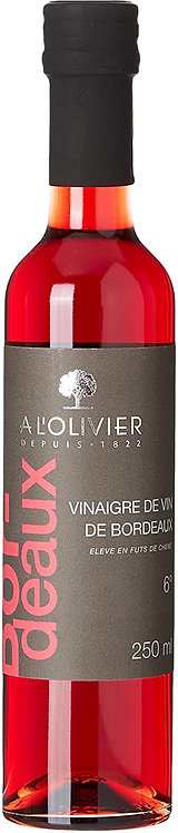 Vinaigre de vin de bordeaux a l'olivier 250 Ml