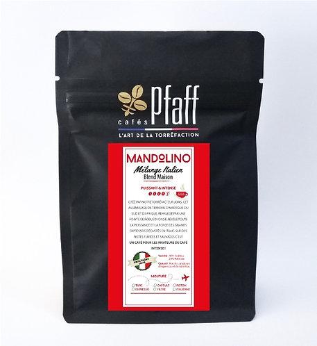 Café en grain blend maison mandolino 250g