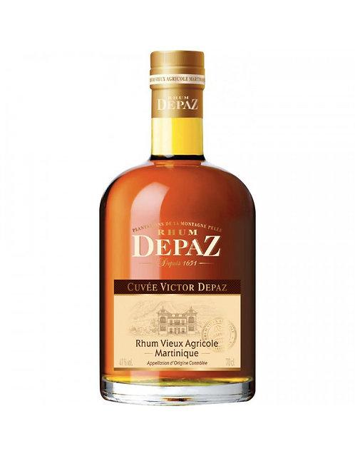 Rhum Vieux de Martinique Cuvée Victor DEPAZ 41%