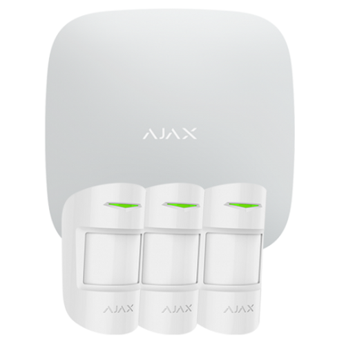 Alarme Ajax Hub Kit Pro Pack alarme IP / GPRS