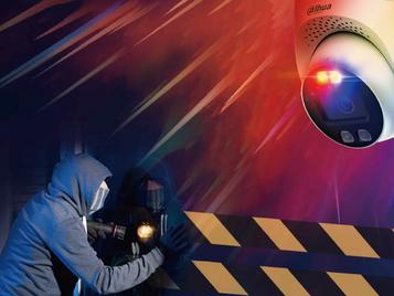 TiOC: une caméra de dissuasion active contre les tentatives d'effraction