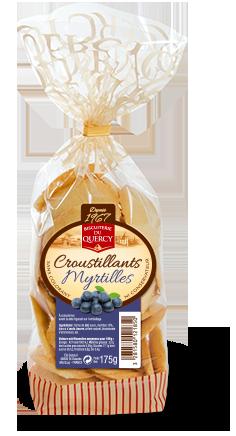 Croustillants Myrtilles
