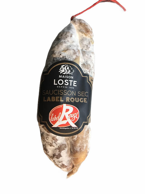 Saucisson sec Label rouge 200g