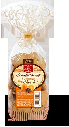Croustillants Orange Pépites de Chocolat