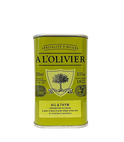 HUILE D'OLIVEAIL & THYM 250ml
