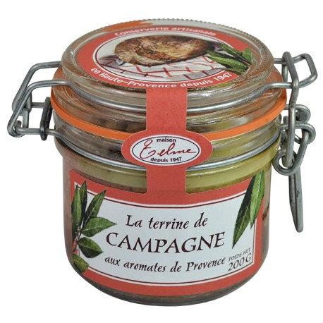 Terrine de campagne aux Herbes de Provence du pays d'Aix