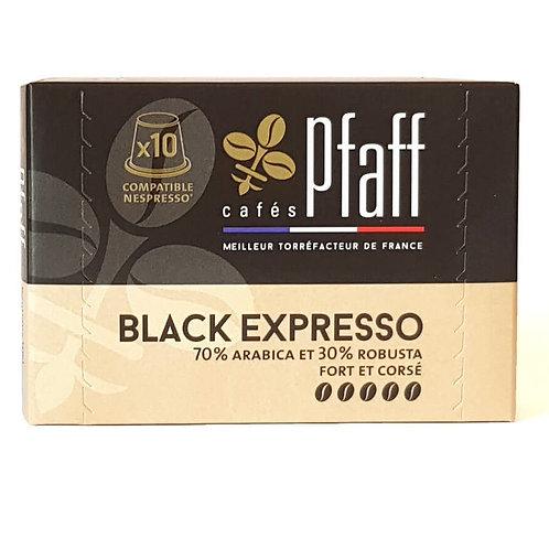 10 Capsules Black Expresso