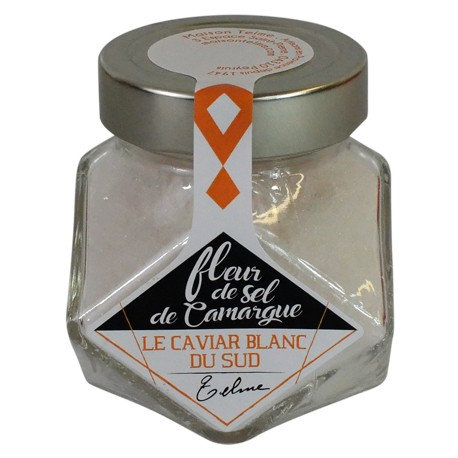 Fleur de sel de Camargue, le caviar blanc du Sud