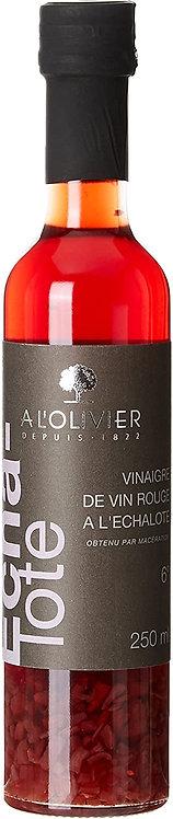 Vinaigre de vin rouge a l'échalote A l'Olivier 250ml