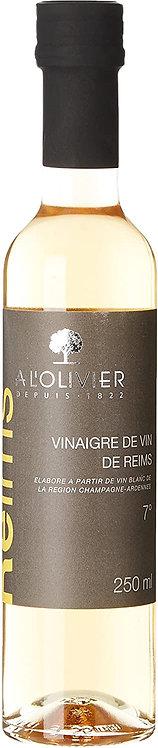 Vinaigre de vin de Reins à l'olivier 250ml