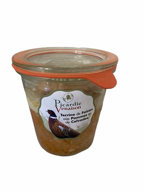 Terrine de faisan aux pommes et au calvados Pot de 200g