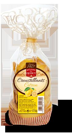 Croustillants Citron