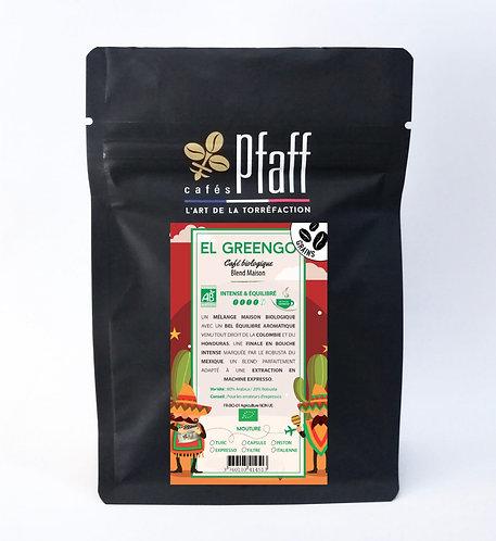 Café en grain blend maison el greengo (bio) 250g