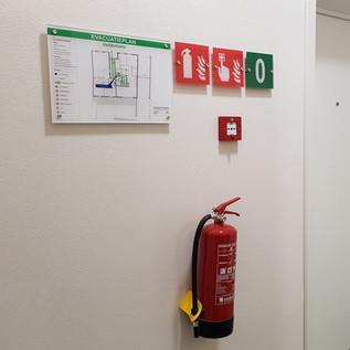 Safety Signage & Evacuatieplanen