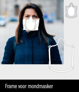 Creër eenvoudig je eigen mondmasker