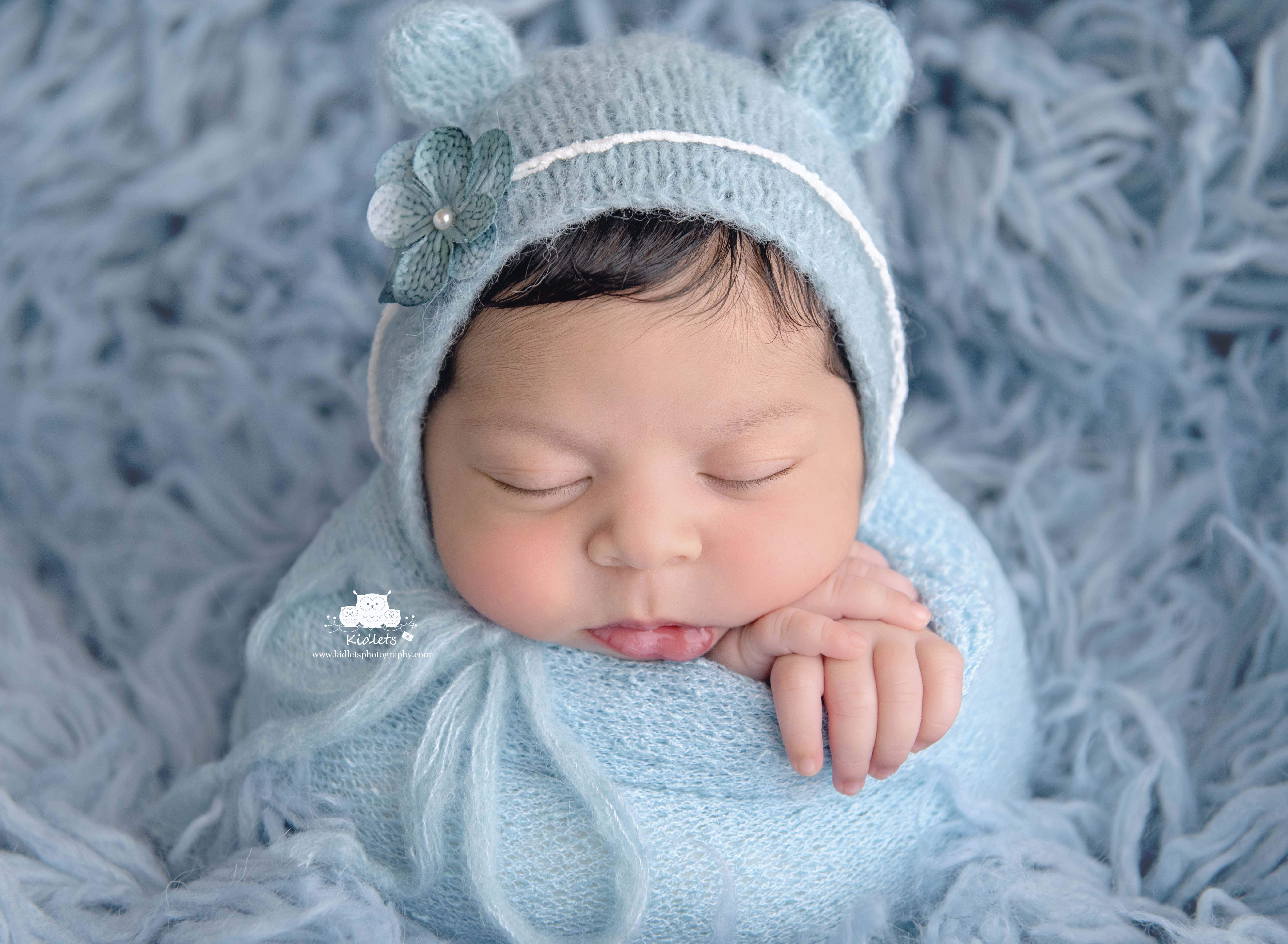 Newborn Session Bear Hat