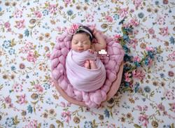 Newborn Session Florals