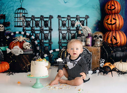 Halloween Cake Smash