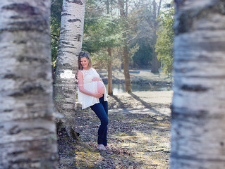 Spring Maternity Session ~Kidlets Photography