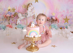 Unicorn Cake Smash