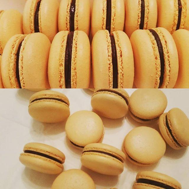 Choco-orange macarons_#macaron #macarons #macaronslover #macaroo #macaroons #frenchmacarons #frenchp