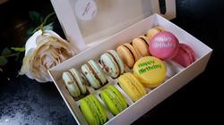 Macarons gift boxes