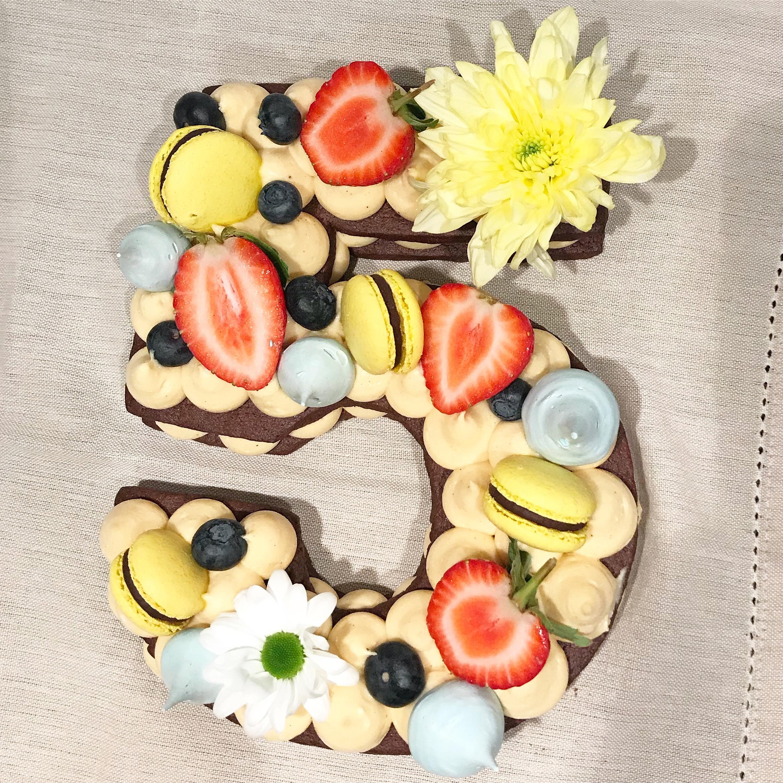 cookie cream birthday cake