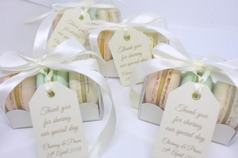 Macarons Wedding Favours
