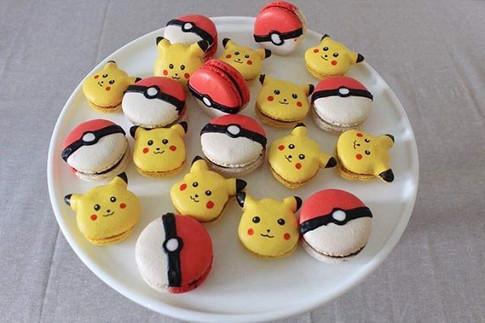 Pokemon macarons 😍_._#macaron #macarons