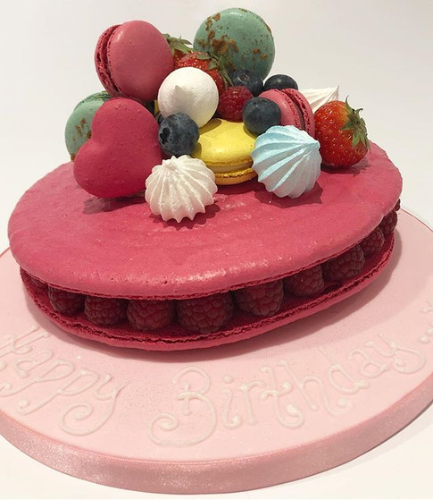 Another giant macaron we made this week