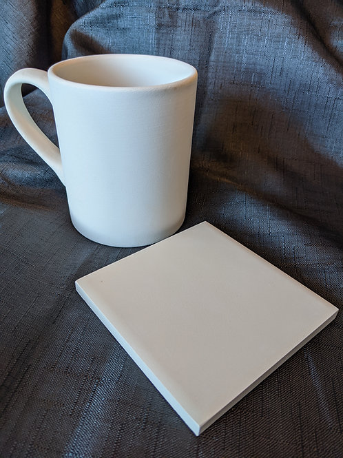 Straight Mug and coaster kit